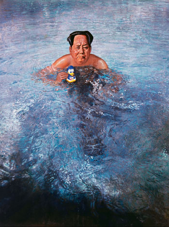Mao in the bath 1972